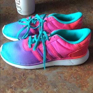 Adidas rainbow kids 5.5 women's 7.5